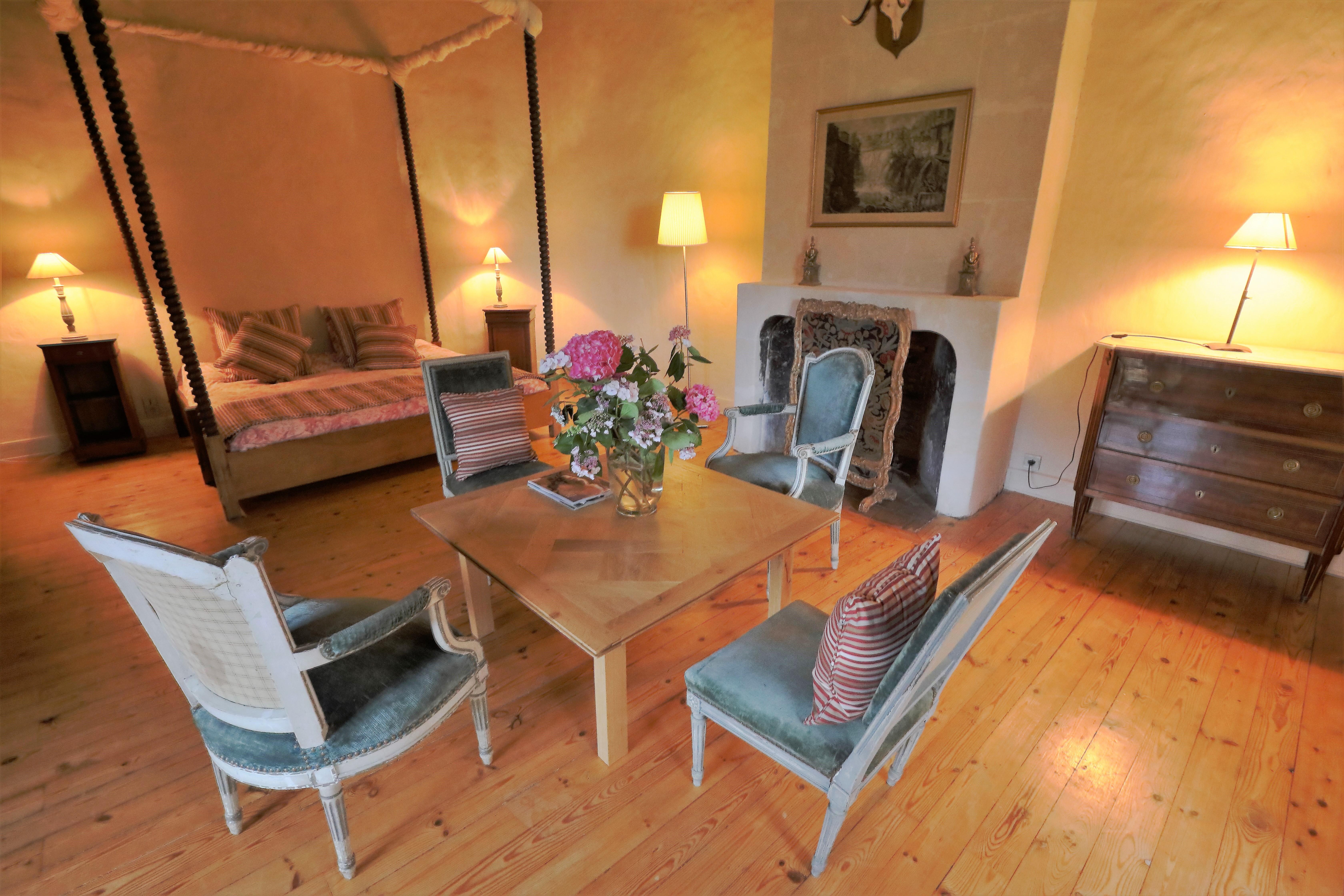 Château de la Couetterie - Les chambres chaleureuses et confortables